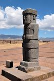 Poncemonoliet, Bolivië royalty-vrije stock foto's