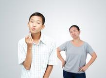 Poncept teenager di problema Immagini Stock
