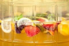 Ponche de fruta Fotografía de archivo libre de regalías