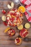 Ponche de fruta foto de archivo