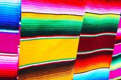 Poncho mexicano Foto de archivo libre de regalías