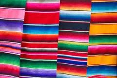 Ponchos mexicanos Imagen de archivo libre de regalías
