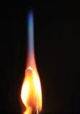 Płonący dopasowanie Fotografia Stock