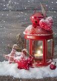 Płonący lampion Zdjęcia Royalty Free
