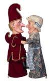 Poncz & Judy miłość Zdjęcie Royalty Free