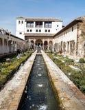 Pond of Alhambra Stock Photo