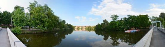 Pond Altenburg Germany Stock Image