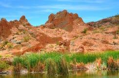 Pond in the Arizona Mountains Stock Photo