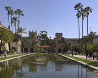 Pond at Balboa Park Stock Photos