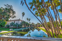 Pond in Balboa Park. California Royalty Free Stock Photos