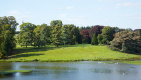 Pond at Blenheim Palace Royalty Free Stock Photography