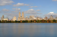 Pond in Central Park, NYC Royalty Free Stock Photos