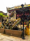 Dragon Pond at Cantonese Assembly Hall Royalty Free Stock Photos