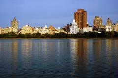 Pond em New York Fotografia de Stock
