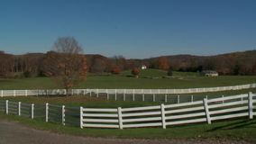 Pond Farm (7 of 9). A view or scene on the farm stock footage