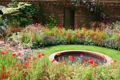 Pond Garden Stock Photo
