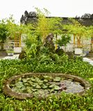Pond in Hainan Assembly Hall Garden Stock Photography