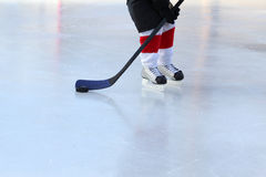 Pond Hockey Royalty Free Stock Photography