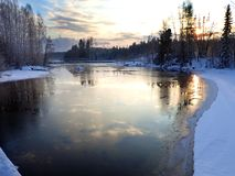 Pond_02, Iggesund-Hudiksvall imagens de stock