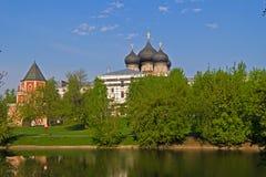 Pond in Izmailovo Royalty Free Stock Image