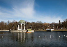 Pond in Kadriorg Royalty Free Stock Photography