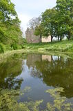 Pond at Kellie Castle Stock Photography