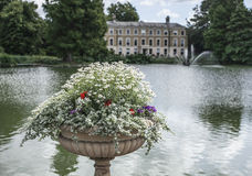 The pond at Kew Gardens, London. Stock Photo
