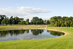 Pond Landscape Royalty Free Stock Images