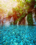 Pond in mountain Royalty Free Stock Images