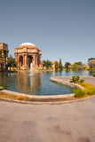 Pond Palace of Fine Arts Royalty Free Stock Images