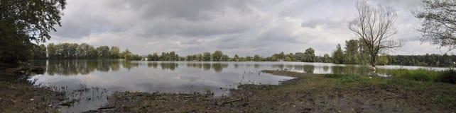 Pond panorama Stock Image