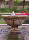 Pond's fountain Stock Images