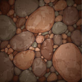Pond stone top view background Royalty Free Stock Images