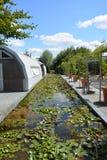 Pond at Terra Botanica Royalty Free Stock Image
