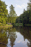 The pond in the Tsaritsyno park Royalty Free Stock Images