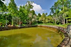 The pond. Tu Hieu pagoda. Hué. Vietnam Royalty Free Stock Image