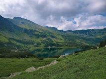 Pond in the Western Tatras Royalty Free Stock Image