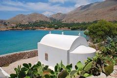 Pondamos chapel, Halki island Stock Photo