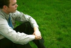 Pondering Stock Photo