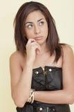 Pondering Woman Stock Image