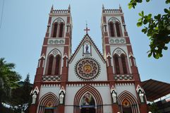 Pondicherry,印度 免版税库存照片