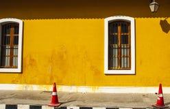 Французский квартал Pondicherry, Индии стоковое фото