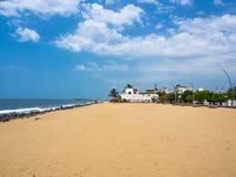 Pondicherry Beach Royalty Free Stock Photography