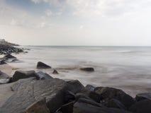 Pondicherry Beach Royalty Free Stock Photo