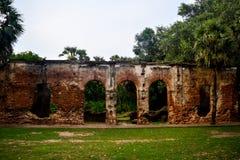 Pondicherry, India - September 30, 2017: Arikamedu village in Pondicherry, India royalty free stock image