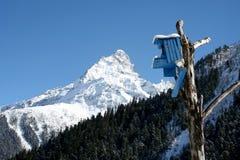 Pondoir dans les montagnes de Caucase Images stock