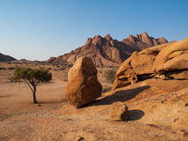 Pondoks massive in Spitzkoppe area Stock Images