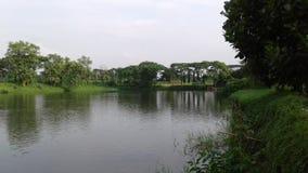 Pondplaats in Meren 4 van Bangladesh Stock Foto's