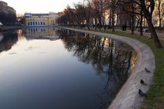 ponds чисто Стоковое Изображение