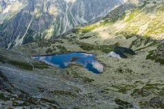 Ponds in the valley - Dolina Zabia Mieguszowiecka (Dolina Zabia, dolina Zabich plies, kotlina Zabich plies) Stock Photos